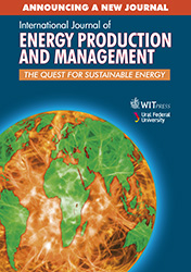 International Journal of Energy Production and Management Flyer