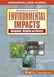 International Journal of Environmental Impacts Flyer