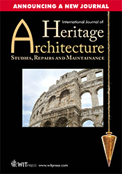 International Journal of Heritage Architecture Flyer
