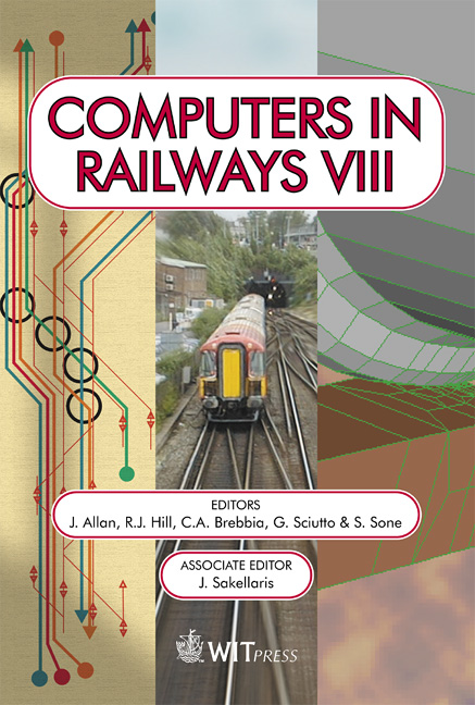 Computers in Railways VIII