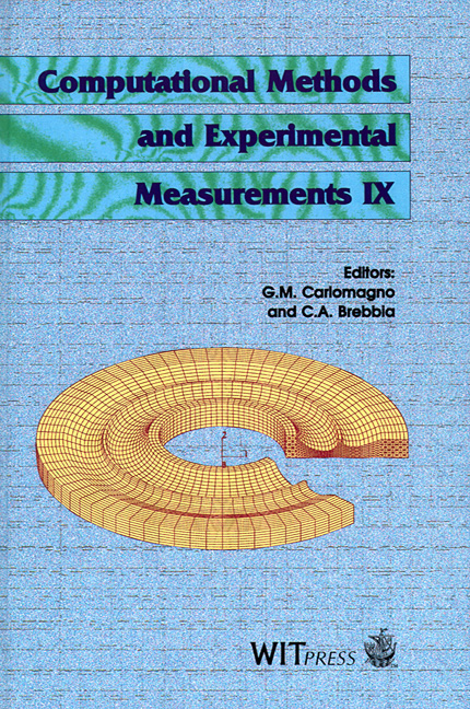 Computational Methods and Experimental Measurements IX