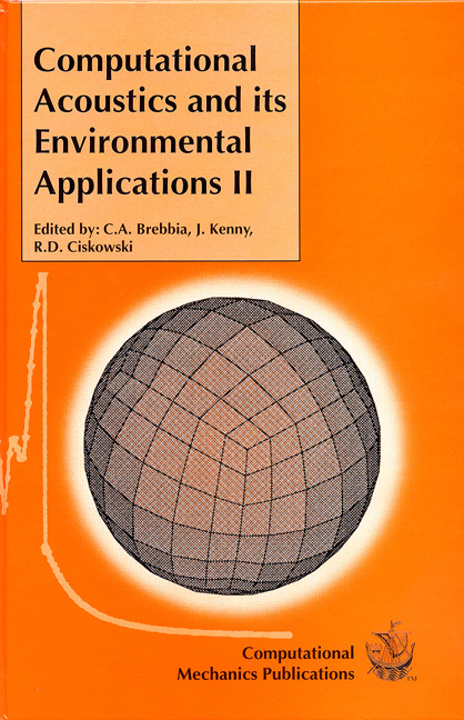 Computational Acoustics and Its Environmental Applications II