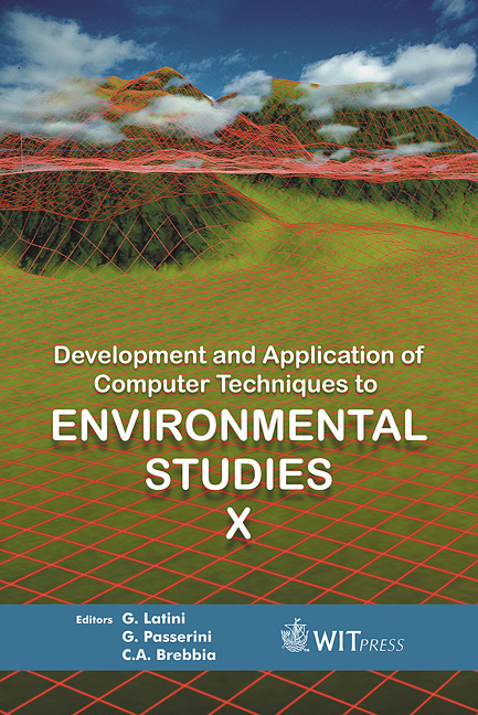 Development and Application of Computer Techniques to Environmental Studies X