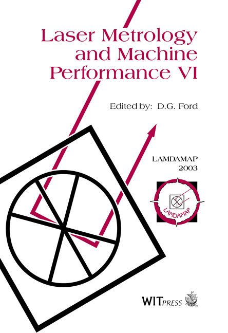 Laser Metrology and Machine Performance VI