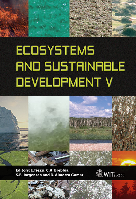 Ecosystems and Sustainable Development V