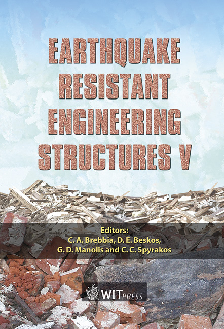 Earthquake Resistant Engineering Structures V