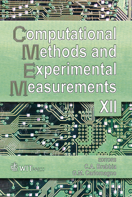 Computational Methods and Experimental Measurements XII