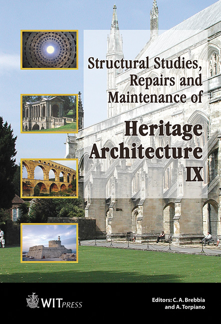 Structural Studies, Repairs and Maintenance of Heritage Architecture IX