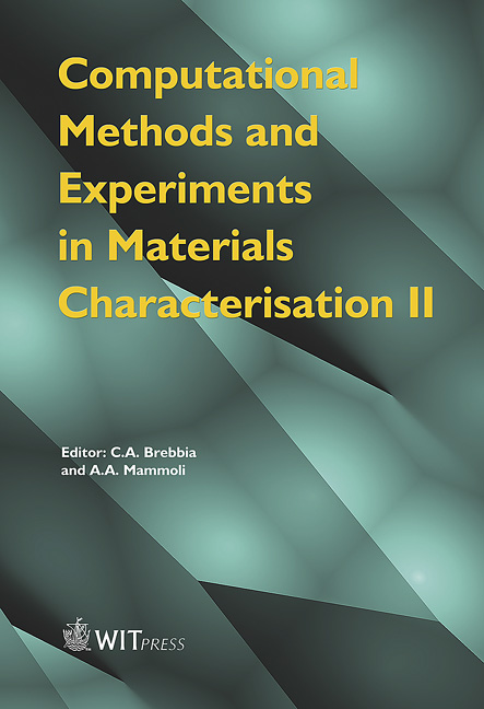 Computational Methods and Experiments in Materials Characterisation II