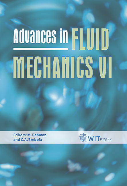 Advances in Fluid Mechanics VI