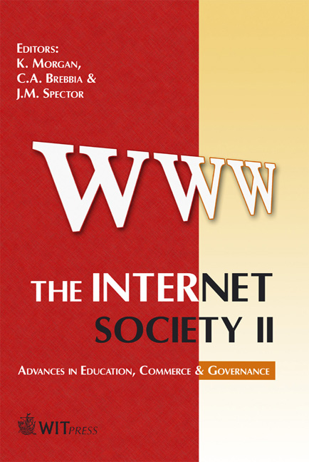 The Internet Society II: Advances in Education, Commerce & Governance