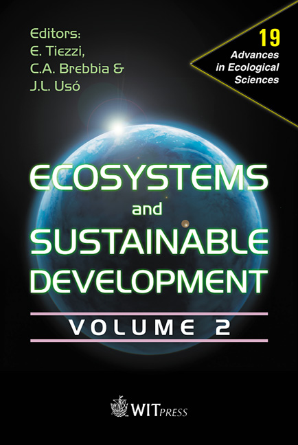 Ecosystems and Sustainable Development IV - Volume 2