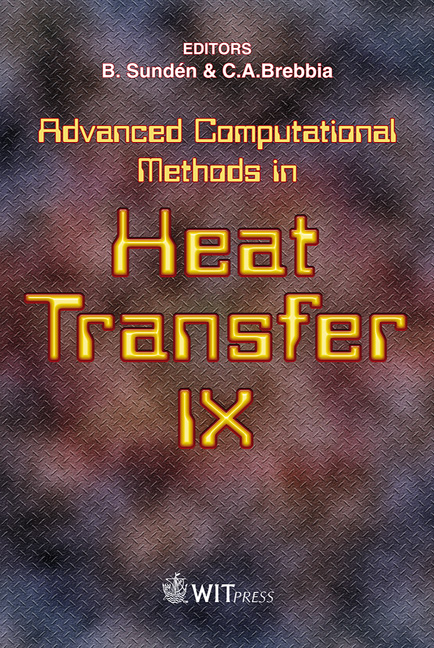 Advanced Computational Methods in Heat Transfer IX