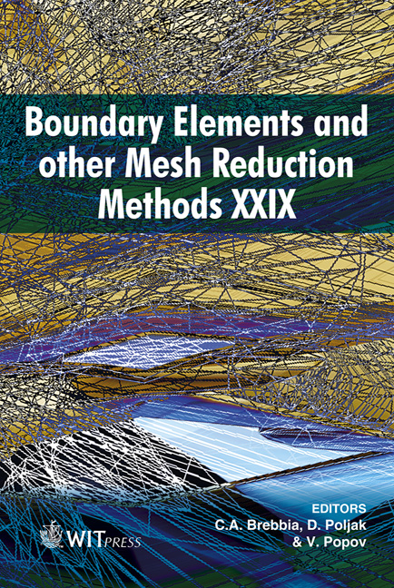 Boundary Elements and Other Mesh Reduction Methods XXIX