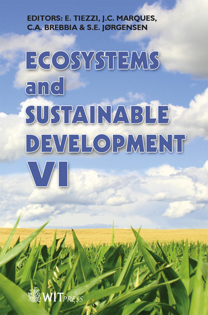 Ecosystems and Sustainable Development VI