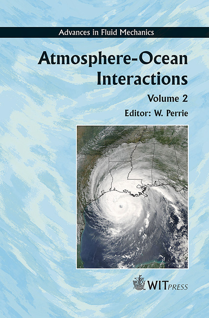 Atmosphere-Ocean Interactions Volume 2