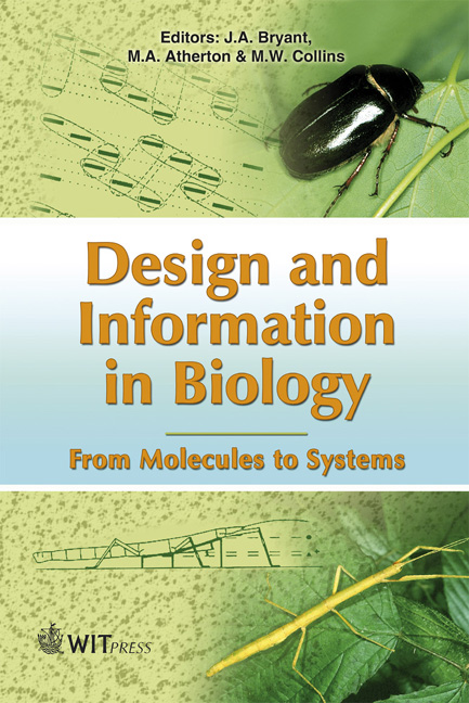 Design and Information in Biology