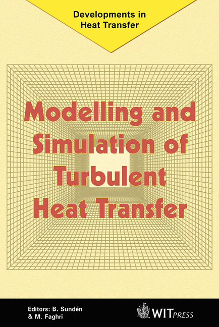 Modelling and Simulation of Turbulent Heat Transfer