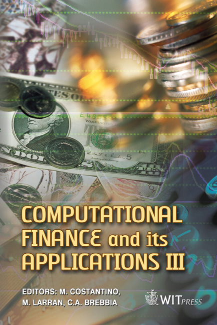 Computational Finance and its Applications III