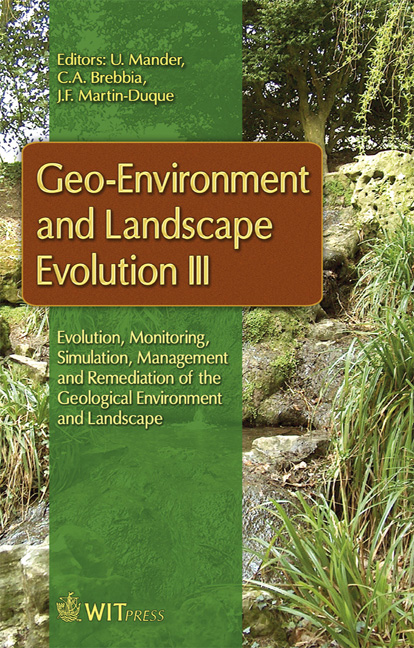 Geo-Environment and Landscape Evolution III