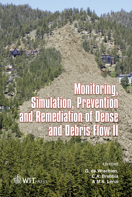 Monitoring, Simulation, Prevention and Remediation of Dense and Debris Flows II