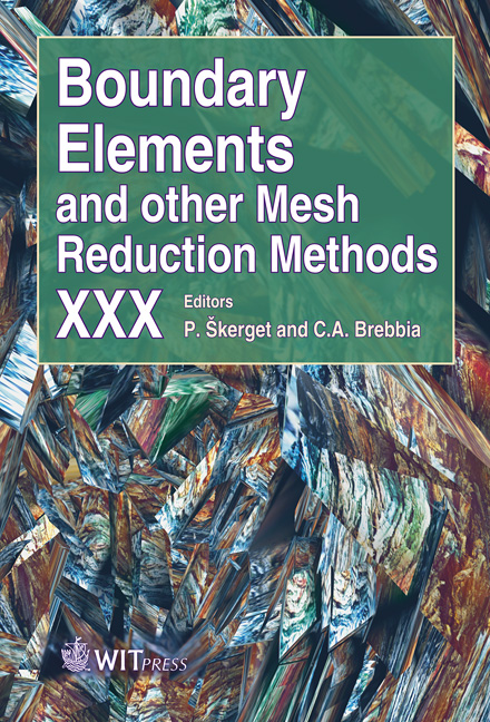 Boundary Elements and Other Mesh Reduction Methods XXX
