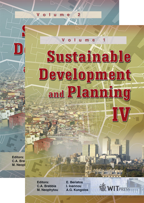 Sustainable Development and Planning IV - 2 Volume Set