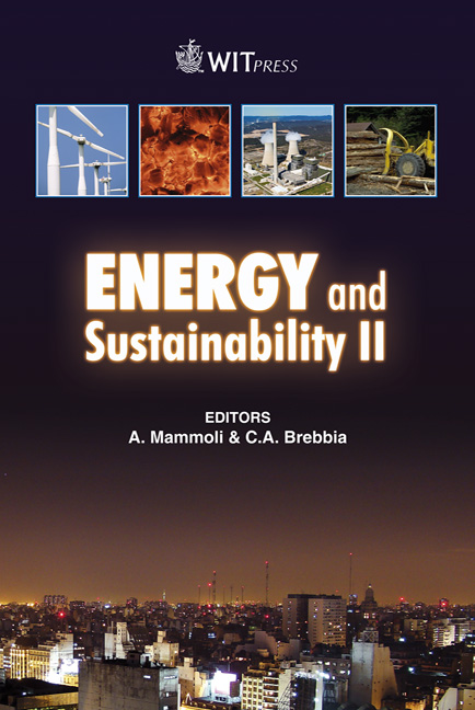Energy and Sustainability II