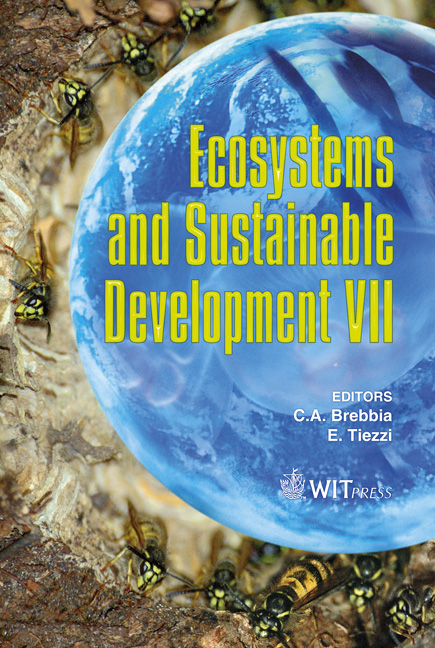 Ecosystems and Sustainable Development VII
