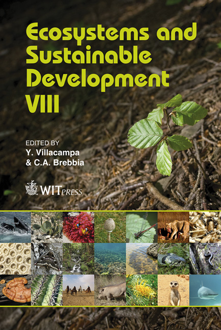 Ecosystems and Sustainable Development VIII