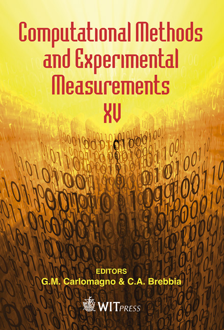 Computational Methods and Experimental Measurements XV