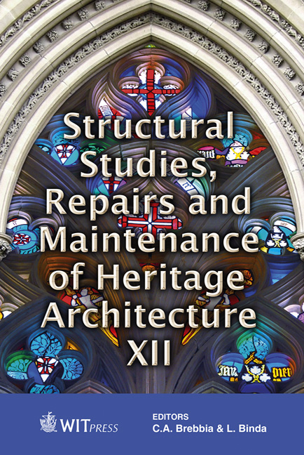Structural Studies, Repairs and Maintenance of Heritage Architecture XII