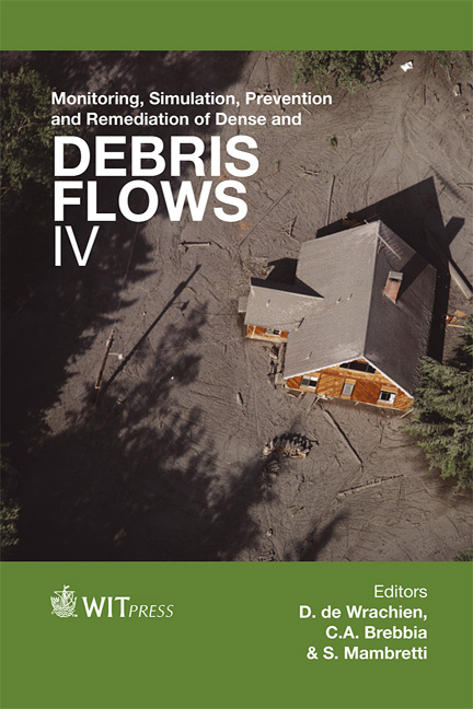 Monitoring, Simulation, Prevention and Remediation of Dense and Debris Flows IV