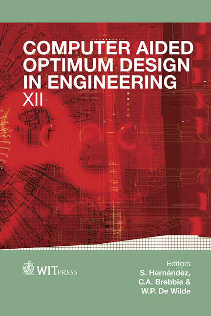 Computer Aided Optimum Design in Engineering XII
