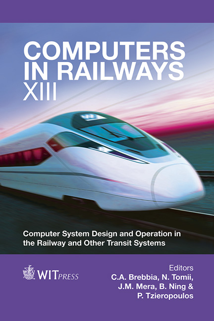 Computers in Railways XIII