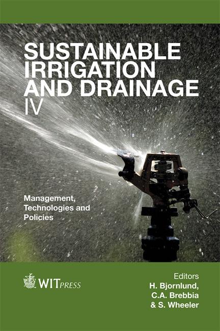 Sustainable Irrigation And Drainage V