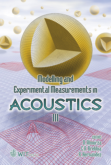 Modelling and Experimental Measurements in Acoustics III