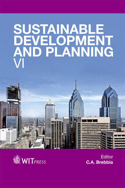 Sustainable Development and Planning VI