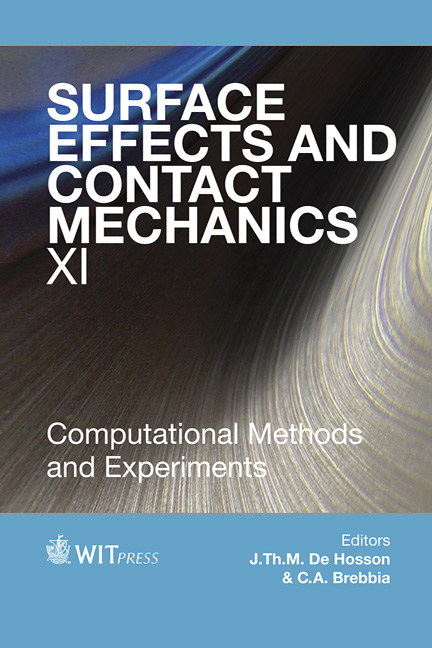 Surface Effects and Contact Mechanics XI