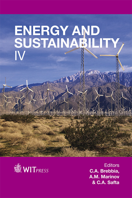 Energy and Sustainability IV