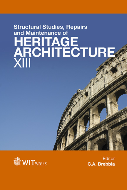 Structural Studies, Repairs and Maintenance of Heritage Architecture XIII