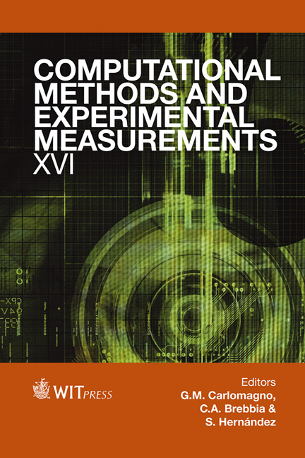 Computational Methods and Experimental Measurements XVI