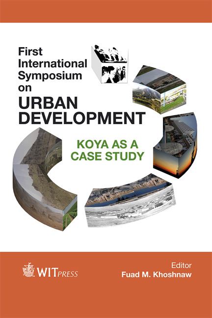 First International Symposium on Urban Development