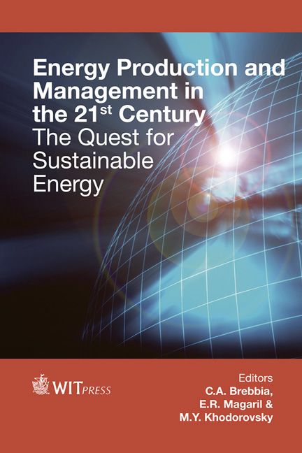 Energy Production and Management in the 21st Century (2 Volume Set)