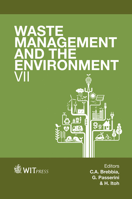 Waste Management and the Environment VII
