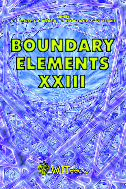 Boundary Elements XXIII