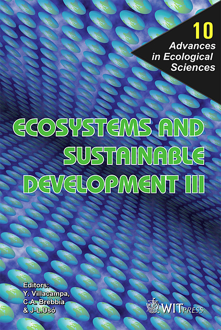 Ecosystems and Sustainable Development III