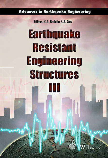 Earthquake Resistant Engineering Structures III