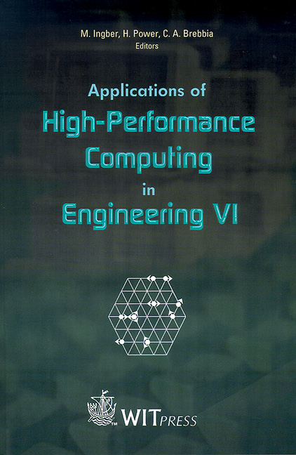 Applications of High-Performance Computing in Engineering VI