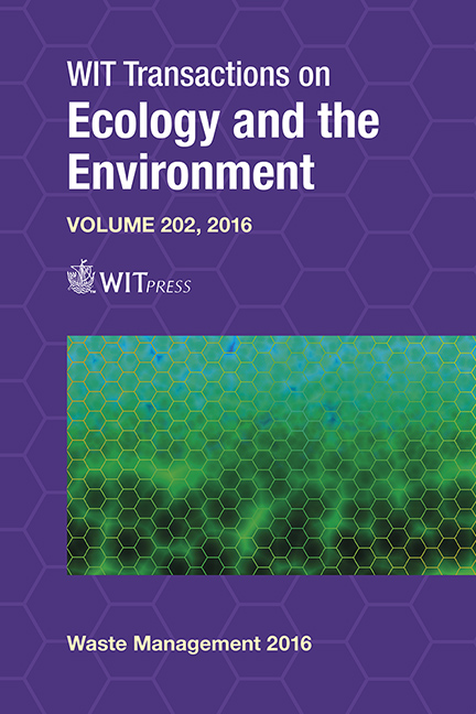 Waste Management and The Environment VIII